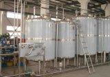 Réservoir de stockage sanitaire de réservoir aseptique de qualité alimentaire avec 4 roues