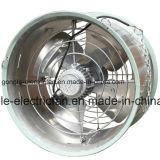 Circulación colgando del ventilador de refrigeración ventilación de gases de efecto y la granja avícola
