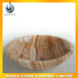 Vanités en vasque en granit et en marbre en forme ronde pour vente