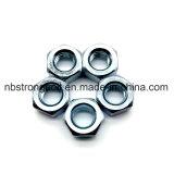 Noix DIN934 Hex avec le zinc Palted