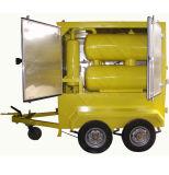 Bewegliche Öl-Reinigung-Pflanze, hohes Vakuumtransformator-Öl-Reinigungsapparat-Maschine