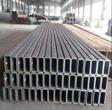 Hot-DIP galvanisiertes 60X30mm 80X40mm ovales Stahlgroßhandelsrohr/Gefäß