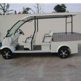 세륨은 승인했다 4 Seater 화물 상자 (DU-M8)를 가진 전기 골프 실용 차량을