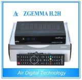 Receptor de satélite digital DVB-S2 + DVB T2 satélite y receptor terrestre con CPU de doble núcleo Zgemma H. 2h