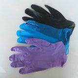 明確なビニールの軽く粉にされた使い捨て可能な手袋(100)