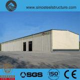 세륨 ISO BV SGS에 의하여 전 설계되는 강철 건축 창고 (TRD-079)