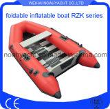 スラットの床が付いている小さく安いPVC膨脹可能なボート