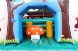 Huis Bouncy Chb256 van de Jonge geitjes van de paddestoel het Opblaasbare