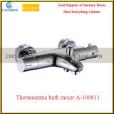 Miscelatore termostatico del rubinetto di acqua della stanza da bagno della vasca da bagno degli articoli sanitari d'ottone