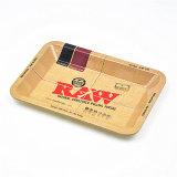 Bandeja del papel de gran tamaño sin procesar de balanceo del cigarrillo del tabaco de Weed del cáñamo del metal