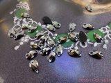 Het vlak AchterKristal naait op Steen voor de Toebehoren van het Kledingstuk