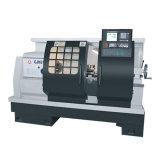 Macchina orizzontale automatica del tornio del banco di CNC