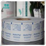 Greaseroof papel de aluminio para la mantequilla Al/PE/papel/película PE