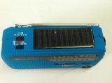 Rádio Solar da manivela com lanterna
