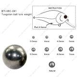 Bola del tungsteno para el peso 08c-041 del señuelo de la bola del tungsteno de los cebos de la manivela
