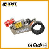 Clé dynamométrique hydraulique creuse en acier capable de s'adapter d'hexagone de Kiet 700bar