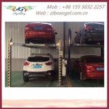 Strumentazione stereo del garage del garage dell'idraulico verticale di parcheggio