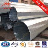12 versah Kapitel-Stahl galvanisierte elektrische Leistung Pole mit unterem Streifen mit Seiten