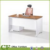 Escritorio de oficina de madera ejecutivo de los muebles de oficinas con la cabina lateral