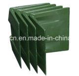 Angolo di plastica della cinghia dell'imballaggio del pallet/protezione d'angolo della scatola/parentesi d'angolo di plastica