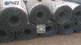 Maglia a fisarmonica del PVC e galvanizzata di obbligazione rivestita del filo
