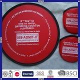 Frisbee plegable de nylon a todo color promocional a estrenar