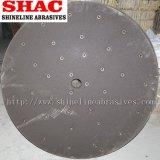 Meule abrasive protégée par fusible d'alumine
