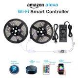 Amazon Alexa vocal du téléphone WiFi de contrôle de l'app Smart Light Bar ensemble barre d'éclairage coloré 12V