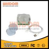 Pesca della lampada chiara di campeggio del berretto da baseball della lampada del LED, faro della bici