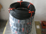 Cavo nero di Viton, cavo di FKM, cavo di Fluorubber fatto con la gomma 100% di Virgon Viton senza odore