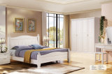 Ensemble de meuble de chambre moderne de luxe en bois massif