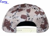 Kundenspezifische Drucken-Muster-Schutzkappe mit flacher Stickerei-Hysteresen-Schutzkappe
