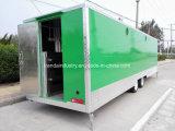 Remorque mobile extérieure de nourriture, camions mobiles de nourriture de rue