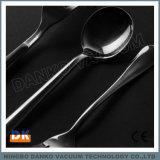 ステンレス鋼の食事用器具類(フォーク、スプーン、ナイフ)のPVDコータ
