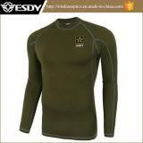 Im Freien taktischer Trainings-Sport-Long-Sleeved thermische Unterwäsche