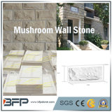 Pietra grigia del rivestimento della parete del fungo per la decorazione di paesaggio