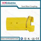 Accoppiamenti di tubo flessibile di scoppio del Sandblast di nylon 1-1/4 ''