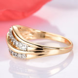 새로운 형식 여성 결혼 반지 보석 금 색깔 약혼 반지