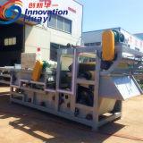 Riemen-Filterpresse für städtischer Klärschlamm-entwässerngerät
