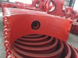Selle de filetage chaude H800X100, selle de pipe de branchement pour la pipe de fer de moulage, pipe malléable de fer