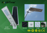 적외선 바디 센서 지능적인 한세트 통합 태양 LED 가로등