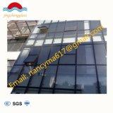 Fenêtre isolée trempé/mur rideau en verre de construction