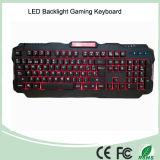 3 клавиатуры разыгрыша цветов новых освещенных контржурным светом СИД связанных проволокой (KB-1901EL)
