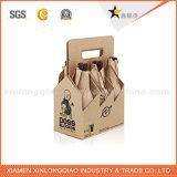 Cartulina de papel de la alta calidad que empaqueta el rectángulo de empaquetado fuerte de la botella/de la galleta