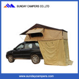 Accampamento che cucina la tenda dell'automobile della strumentazione