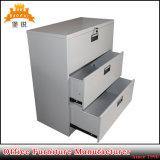 A maioria de gabinete de arquivo lateral das gavetas populares do metal três