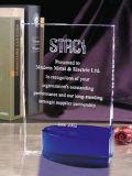 Prêmio de cristais prismáticos de alta qualidade com o logotipo do cliente a Laser