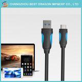Umsponnener Nylontyp 3.1 c-Daten-Kabel USB-3.0 für AppleAndroid Smartphone