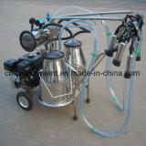 牛搾り出す機械真空ポンプガソリン搾乳器2バレル