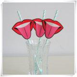 Оптовые Eco-Friendly устранимые бумажные сторновки с красной биркой губы
